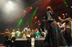 Dance vibes with Angélique Kidjo
