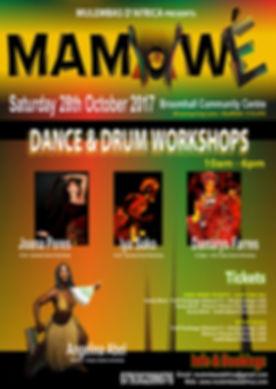 Mamawe workshop Oct 2017 FLYER FRONT (1)