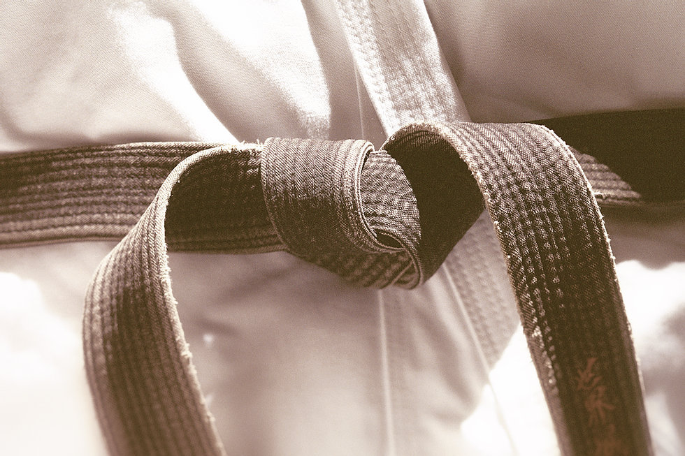 Kyokushin karate Full contact black belt