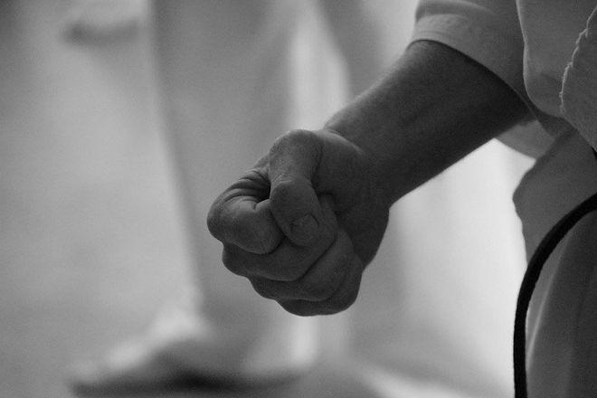 Kyokushin karate Mas Oyama Fist.jpg