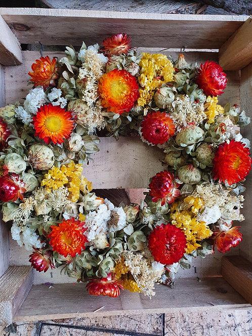 Dried Door Wreath