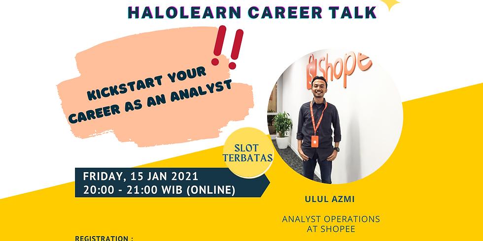 Kickstart Your Career As An Analyst