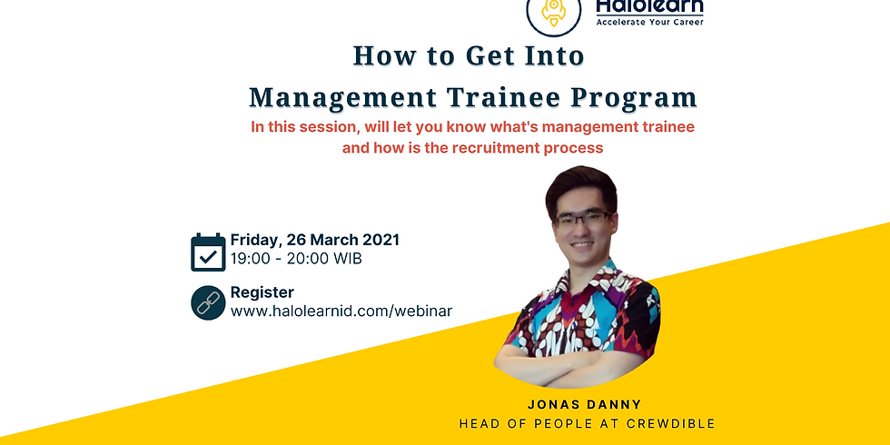 How to Get Into Management Trainee Program