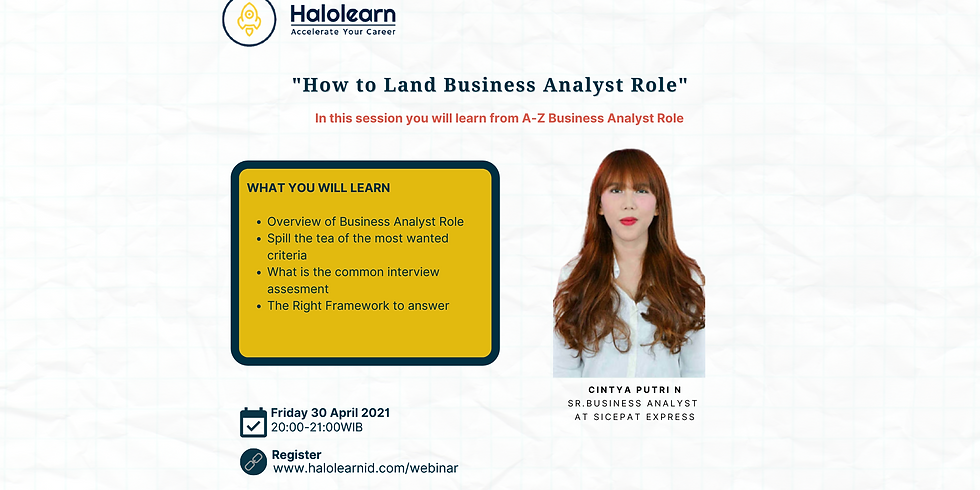 How to Land Business Analyst Role