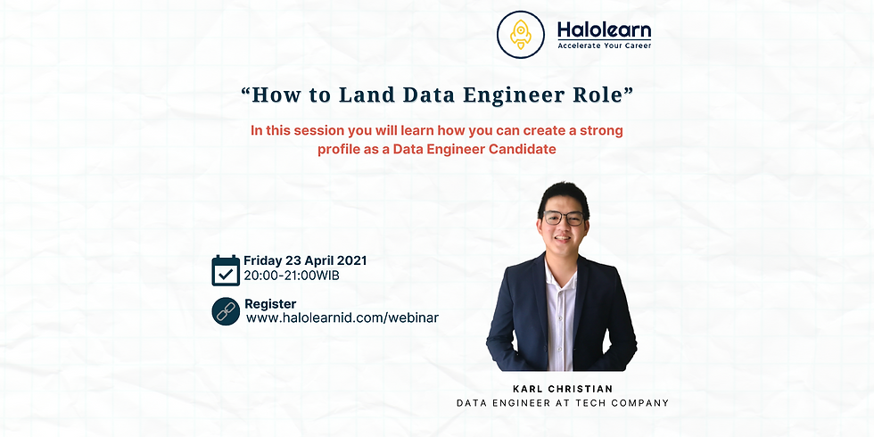 """""""How to Land Data Engineer Role"""""""
