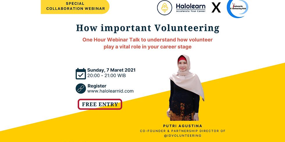 Understand The Importance of Volunteer