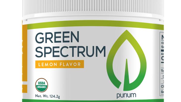 Purium Green Spectrum - Lemon Flavor