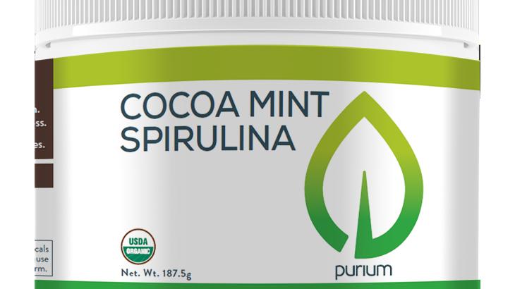 Puirium Cocoa Mint Spirolina