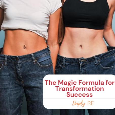 The Magic Formula for Transformation Success
