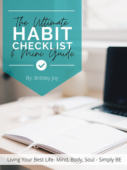 Simply Be - Ultimate Habit & Checklist Guide