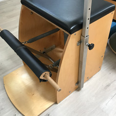 One of our fave pieces of Pilates equipment; the wunda chair.