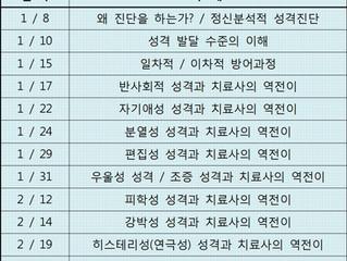 2019년 연극심리상담사 단기 심화과정 개강안내