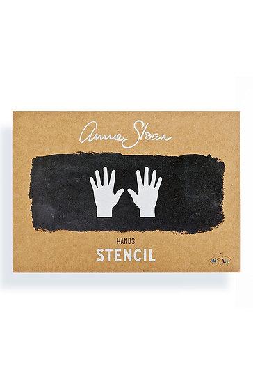 Annie Sloan Stencil Collection, Hands