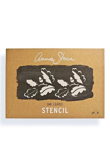 Annie Sloan Stencil Collection, Oak Leaves