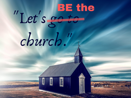 What should a church be doing?