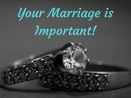 Your Marriage is Important