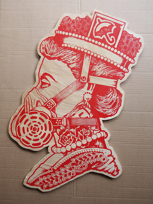 Queen Wood Cutout (Limited Edition)