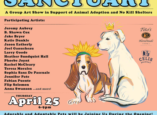Sanctuary - Group Art Show
