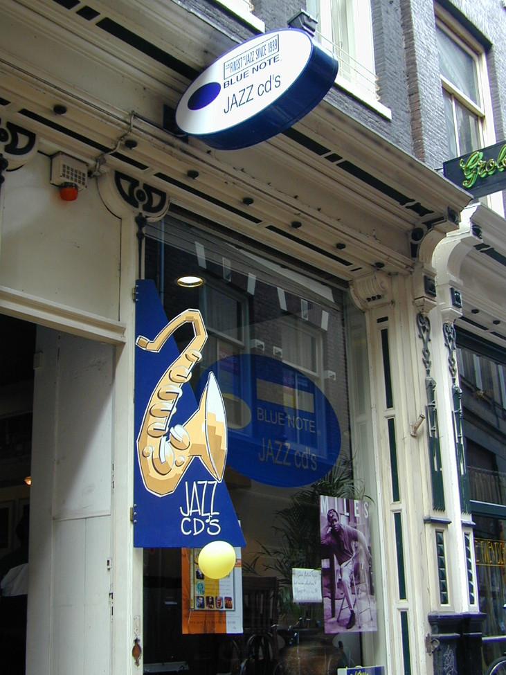 Fanastic Blue Note CD Shop