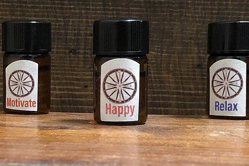 Essential Oils - 3 1ml sample bottles
