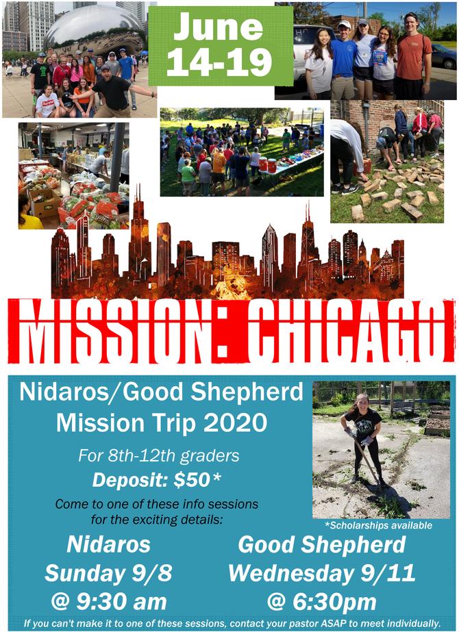 Mission Trip 2020!