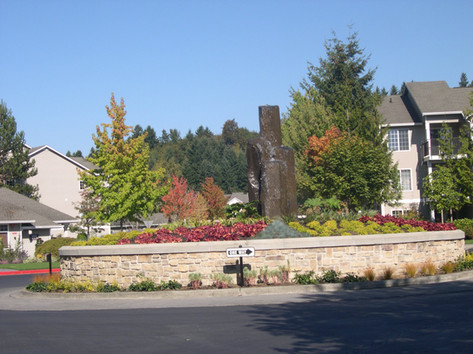 Tall Rock Fountain