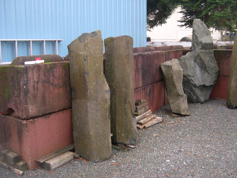 Tall Rocks for Landscaping