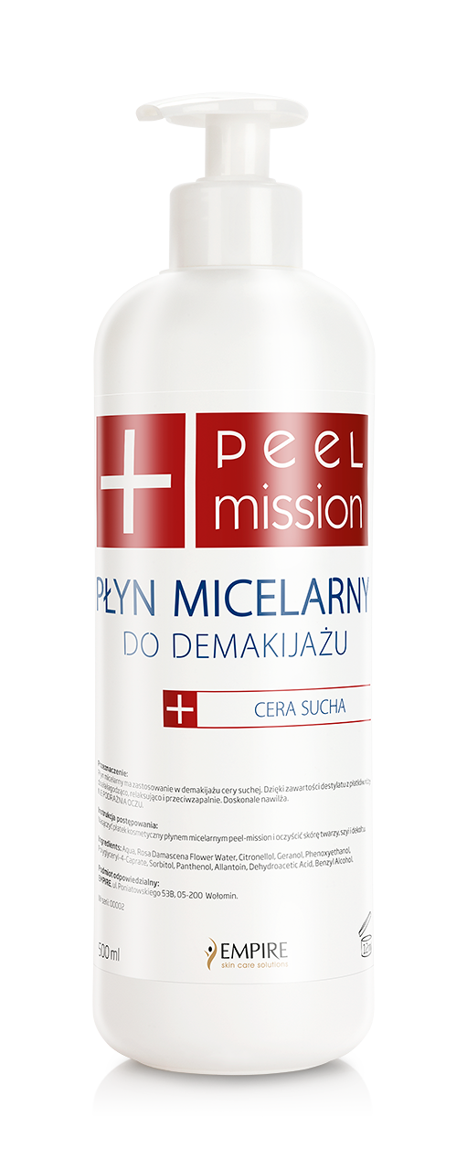 Płyn micelarny dla skóry mieszanej - 55 zł