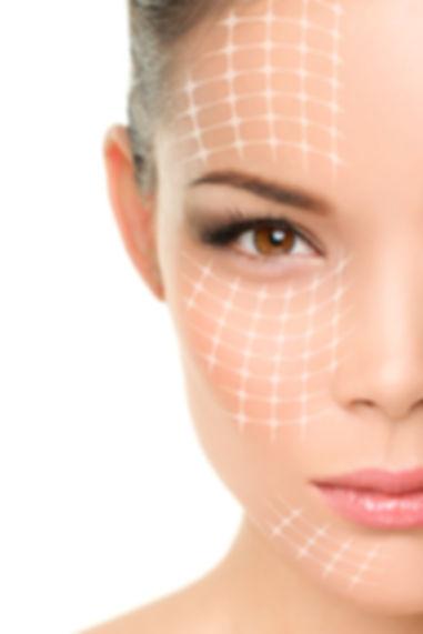 Face lift anti-aging treatment - Asian w