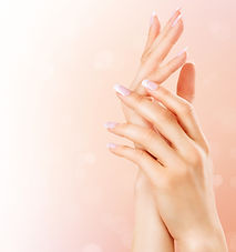 Beautiful Female Hands. Spa and Manicure