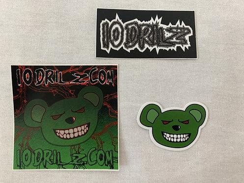 10Drilz Sticker Pack