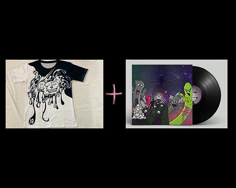 10Drilz Shirt + Vortex Bandits EP Digital Download