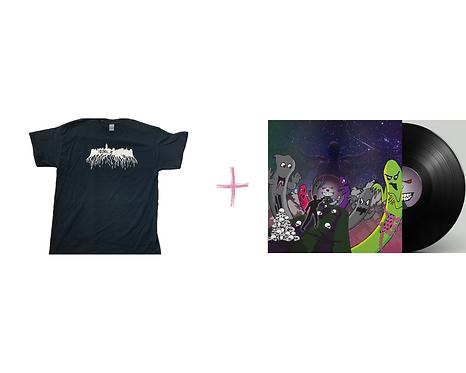 10Drilz Tour Shirt + Digital Download of Vortex Bandits EP