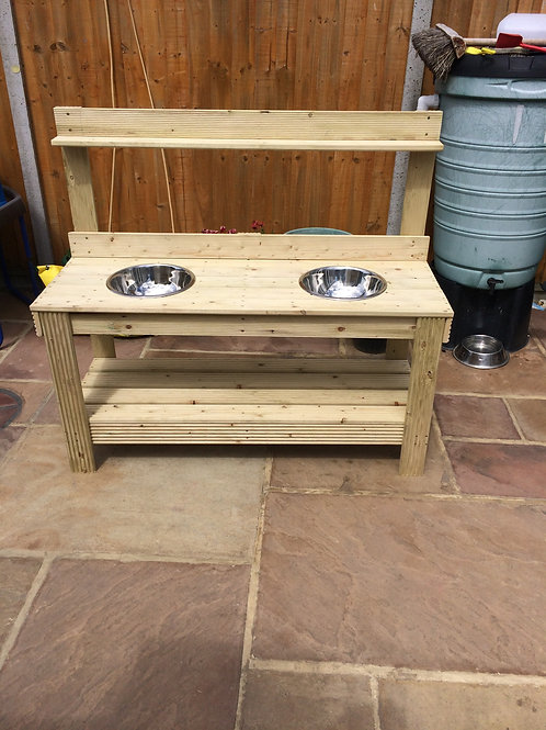 Double Mud Kitchen