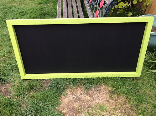 120x60 Chalkboard- Lime Zest