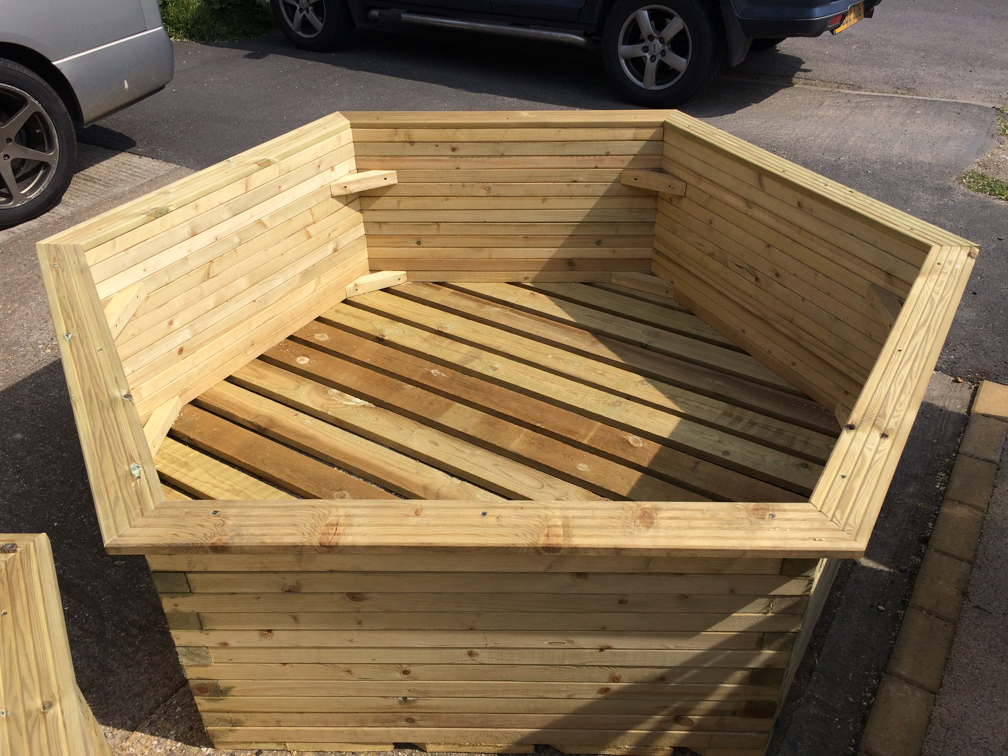 6ft x 2ft planter made to order