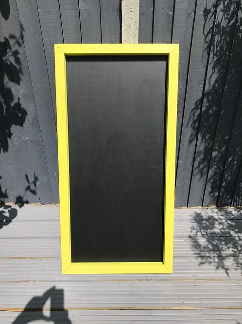 120x60  Chalkboard- Dazzling Yellow