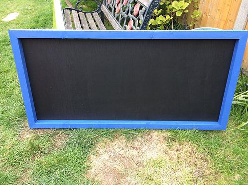 120x60 Chalkboard - Barleywood