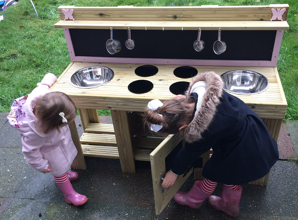 Mud Kitchen and EYFS