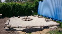 Neuanlegung unserer Lagerfeuerstelle