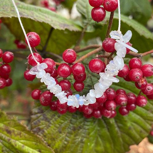 Moonstone Adjustable Length Necklace