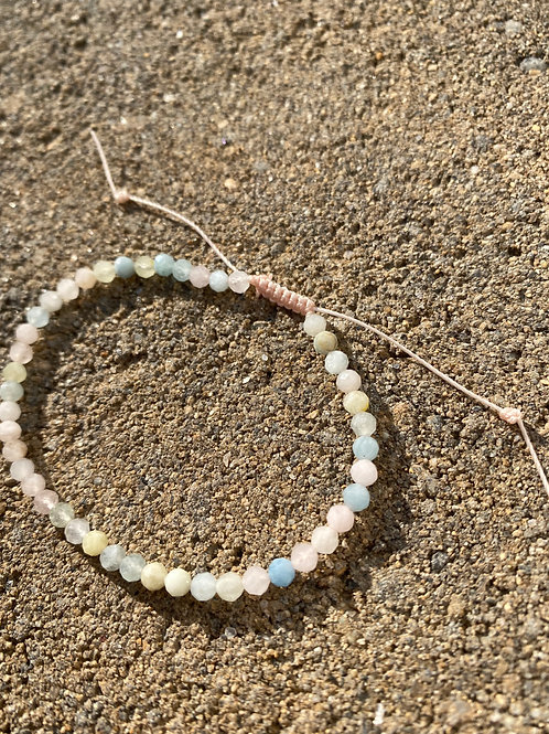 Beryl Sparkle Adjustable Bracelet
