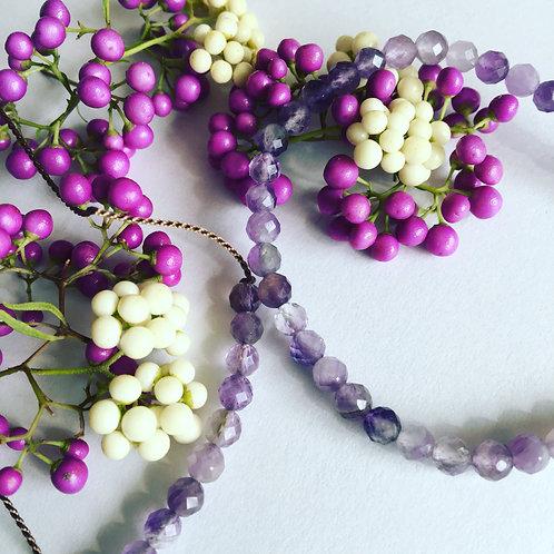 Amethyst Sparkle Necklace
