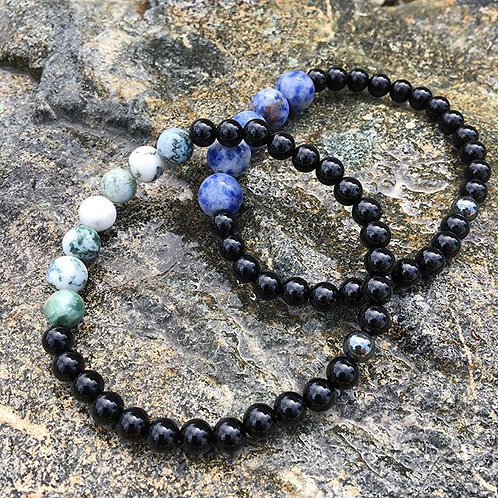 *Earth and Sky Collection Bracelets