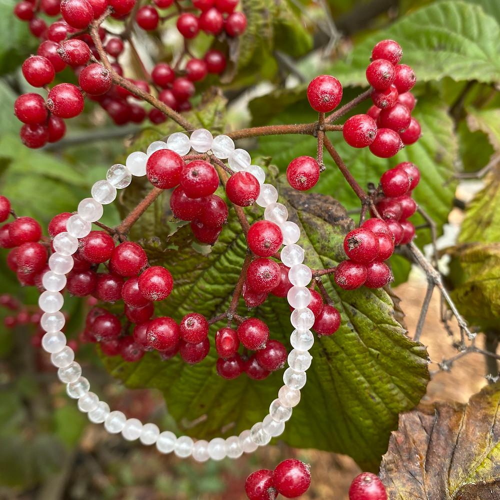 Rose Quartz Gemstone Stretch Bracelet