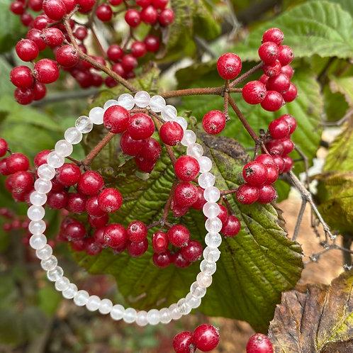 Rose Quartz Mini Bracelet