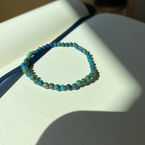 Chrysocolla Mini Bracelet