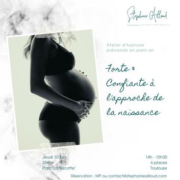 Hypnose périnatale :préparation à la naissance