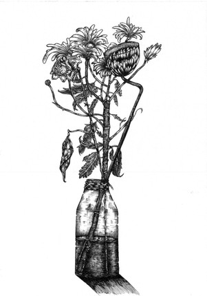 Bottle of Flowers