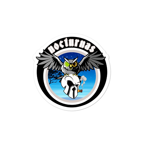 nocturnas Bubble-free stickers